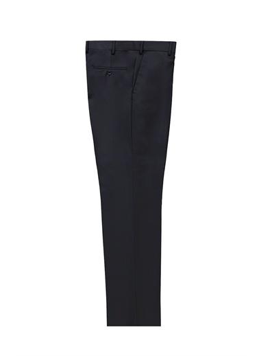 Kiğılı Yünlü Klasik Pantolon Lacivert